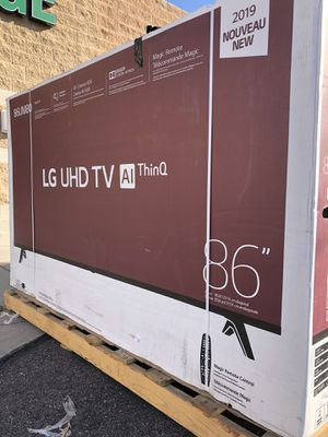 LG 75 INCH 4K THINQ 8 SERIES SMART TV! 3 month guarantee. PICKUP ONLY for Sale in Phoenix, AZ