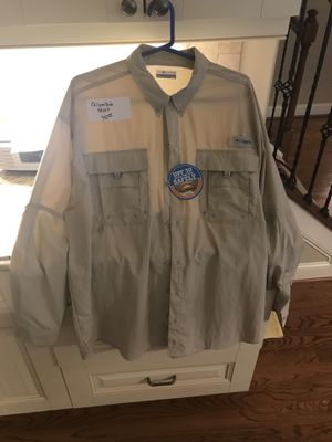 Columbia Fishing Shirt for Sale in Apex, NC