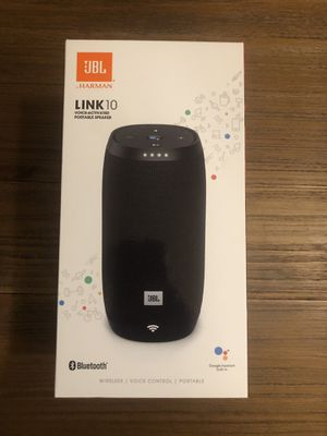 JBL Link 10 Portable Speaker with Google Home for Sale in Aloha, OR