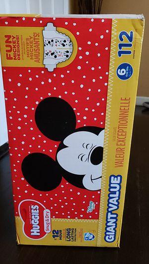 Huggies diaper size 6 for Sale in Menlo Park, CA