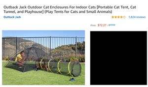 Pet enclosure, Tent, cats, small animals for Sale in Puyallup, WA