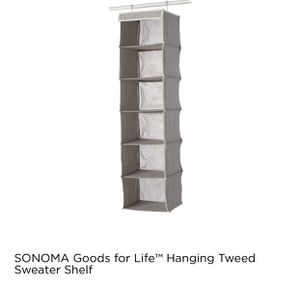 Hanging closet organizer for Sale in Roseville, CA