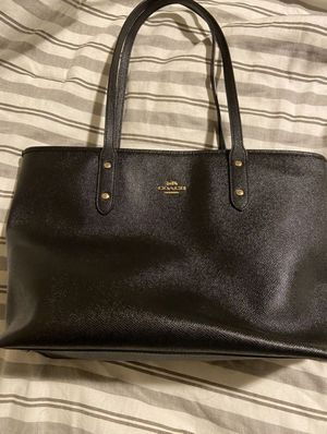 Coach black tote bag for Sale in Portland, OR