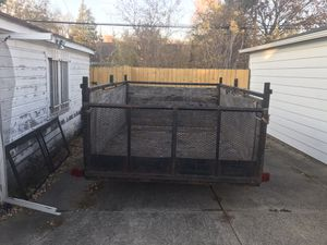 Utility trailer 6 x 10 for Sale in Grosse Pointe, MI