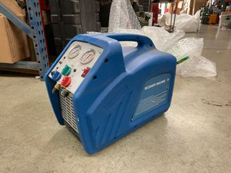 HVAC refrigerant freon recovery machine 115volt twin cylinder for Sale in West Covina,  CA