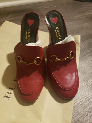 Gucci horsebit loafer high heels for Sale in Chicago, IL