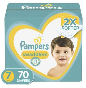 Unopened box of pampers swaddlers diaper size 7 for Sale in Mission Viejo, CA