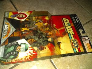 G.I. JOE ACTION FIGURES COLLECTION BRAND NEW SEALED ASKING ONLY FOR $16.00 for Sale in Phoenix, AZ