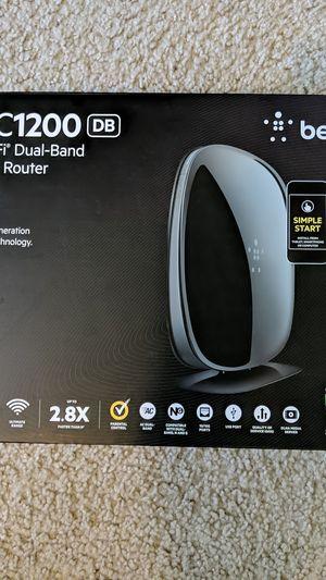 Belkin Wifi dual-band AC router for Sale in Bellingham, WA