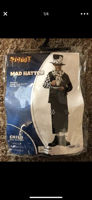 Halloween costume Mad hatter ( 6-7) for Sale in West Jordan, UT