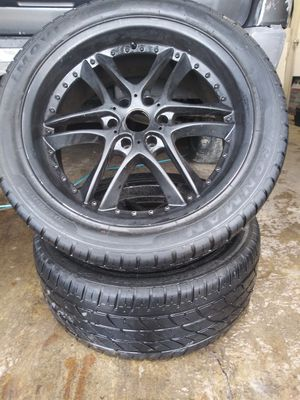 6 lug chevy wheels and tires for Sale in Salt Lake City, UT