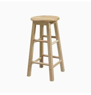 3 wooden bar stools for Sale in Tacoma, WA