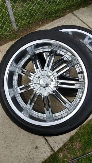 24 inch tires and rims for Sale in Washington, DC