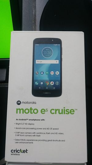 Moto e5 cruise for Sale in St. Petersburg, FL