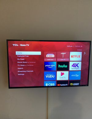"""TCL 55"""" class 4-series 4K UHD HDR ROKU SMART TV for Sale in Marina del Rey, CA"""