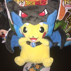 Pikachu Charizard Hoodie Plushie for Sale in Riverside, CA
