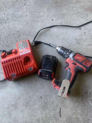 Milwaukee Drill battery and charger for Sale in Columbus, OH