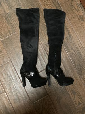 Size 7 Thigh High Boots Great for Halloween Pirates etc for Sale in Creedmoor, TX