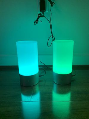 Aukey Color Changing Touch Lamps for Sale in Fairfax, VA