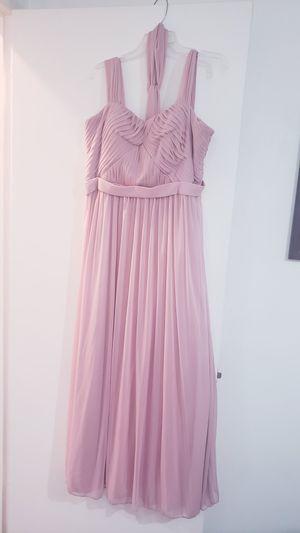 Blush Pink chiffon formal dress 2 XL for Sale in Downey, CA
