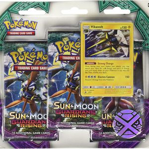 Pokemon TCG: Sun & Moon Guardians Rising, Blister Pack Containing 3 Booster Pac for Sale in Sacramento, CA