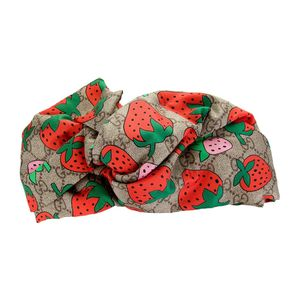 Gucci Silk GG Supreme 🍓 Headband for Sale in Monrovia, CA