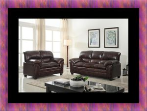 Burgundy sofa and loveseat for Sale in Fairfax, VA