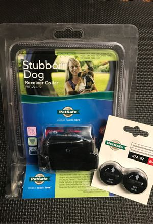 petSafe Dog Receiver Collar & extra batteries for Sale in Shelton, CT