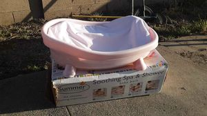 BABY BATH TUB WITH BACK SUPPORT for Sale in Santa Ana, CA