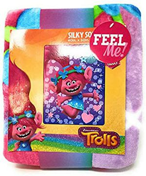 Dreamworks Trolls Silky Soft Throw Blanket, size 40 inches x 50 inches. for Sale in Hawthorne, CA