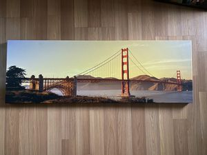 Golden Gate Bridge canvas for Sale in Redwood City, CA