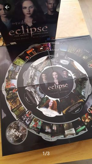New Twilight Eclipse Board Gamebox in great condition. Age 13+ great for teens and movie lover. for Sale in Long Beach, CA