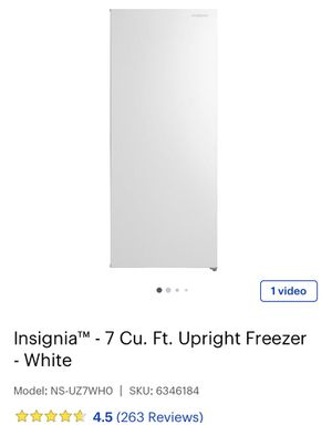 Freezer upright 7 cu. ft. NEW for Sale in Daly City, CA