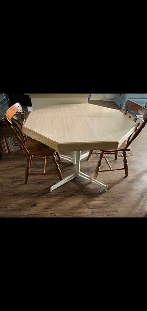 Dining table with 2 chairs for Sale in Bloomfield, CT