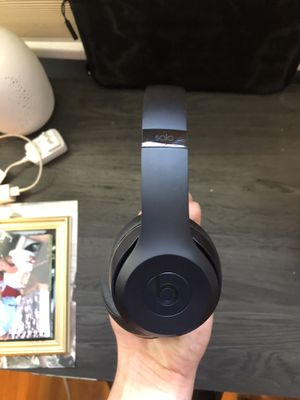 Beats Wireless Solo All Black for Sale in Spokane, WA