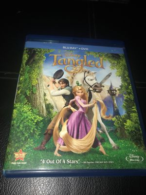 Tangled Blu-ray DVD for Sale in Corona, CA