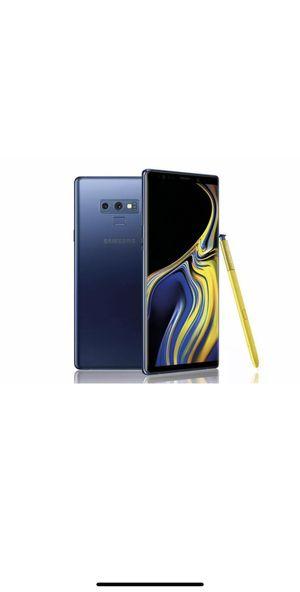 Samsung Galaxy Note9 SM-N960 - 128GB - Ocean Blue (Verizon) for Sale in Perris, CA