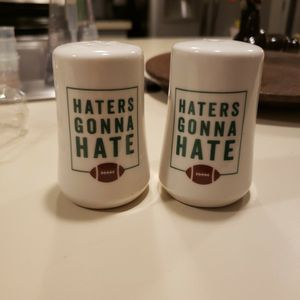 """""""Haters gonna hate"""" Salt & Pepper shakers for Sale in Gulf Breeze, FL"""