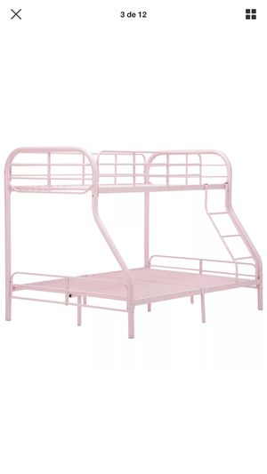 Bunk bed twin over full for Sale in Gaithersburg, MD