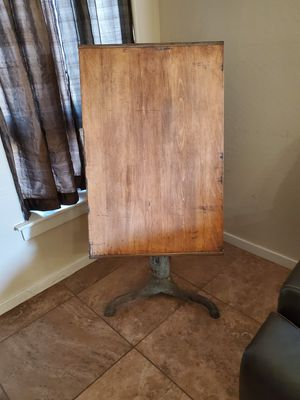 Early 1900s drafting table for Sale in Tolleson, AZ