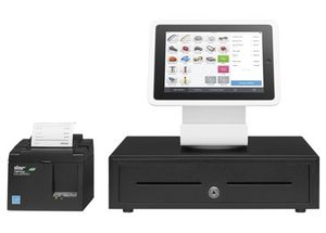 SQUARE POS BUNDLE - iPad Air Stand + Star Receipt Printer + Cash Drawer Black for Sale in Somerville, MA