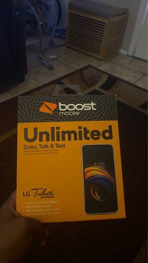 Boost lg tribute phone for Sale in Mesa, AZ