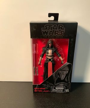 Star Wars Black series Darth Revan NOTOR sith Jedi expanded universe figure toy for Sale in Lakeside, CA