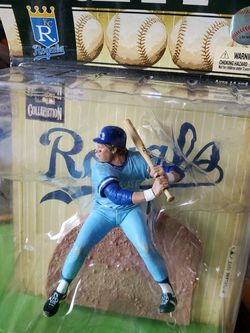New Mcfarlane Kansas City Royals GEORGE BRETT action Figure For $25 for Sale in Clovis, CA