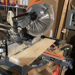 Ridgid Miter Saw for Sale in Rockville, MD