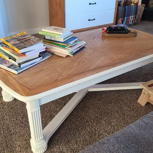 Solid Wood Coffee Table for Sale in Redmond, OR
