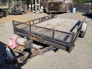 16' Car trailer for Sale in Stockton, CA