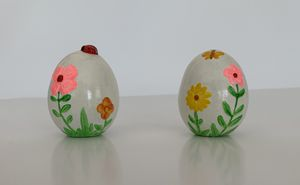 Hand painted Easter Eggs figurine for Sale in Waltham, MN