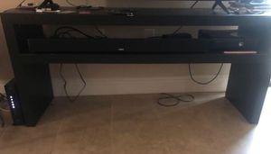 IKEA dark brown TV stand! for Sale in Saint Petersburg, FL