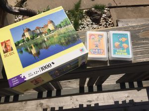 Puzzle , card games for Sale in Aurora, CO